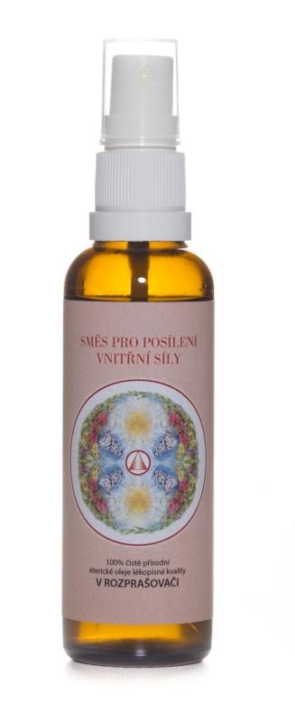 Směs pro posílení vnitřní síly - živlová aromaterapie OHEŇ