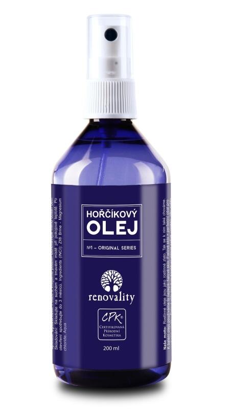 Hořčíkový olej - rozprašovač