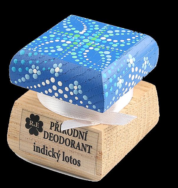 Přírodní deodorant - indický lotos