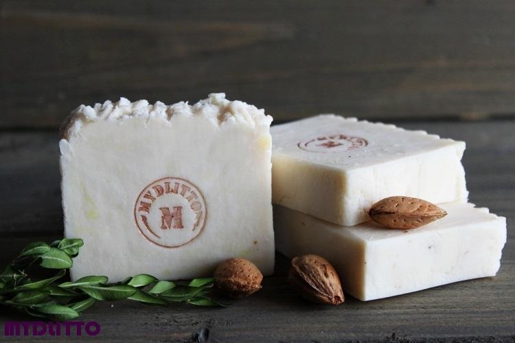 Grekio-mandlové mýdlo