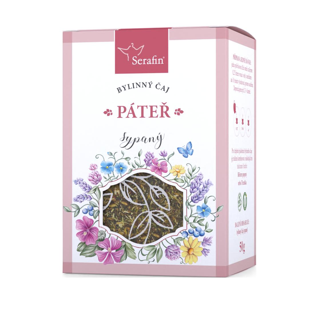 Páteř – sypaný čaj