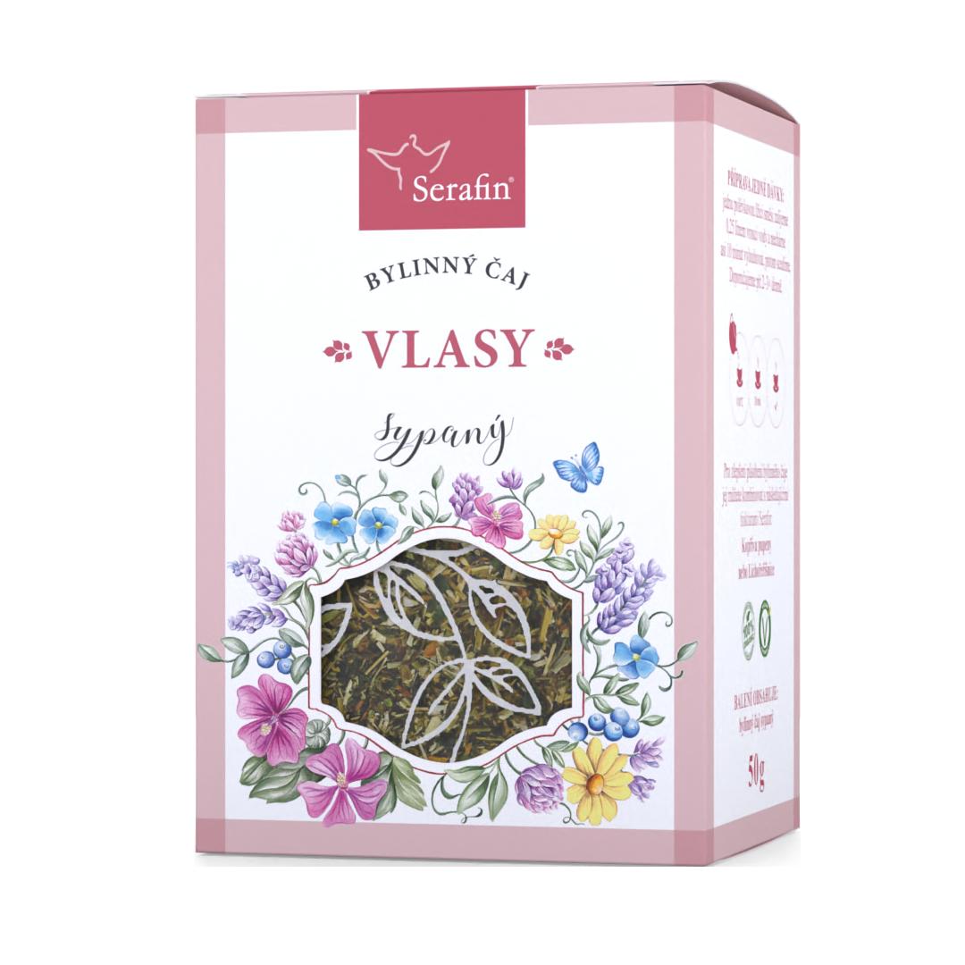 Vlasy – sypaný čaj