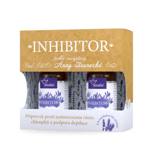 Inhibitor - proti nadměrnému růstu chloupků